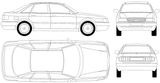 Imprimer le coloriage : Audi, numéro 105515