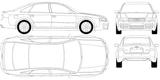 Imprimer le coloriage : Audi, numéro 105530