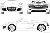 Imprimer le coloriage : Audi, numéro 105532