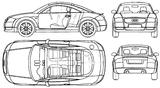 Imprimer le coloriage : Audi, numéro 114599