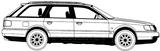 Imprimer le coloriage : Audi, numéro 114600