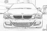 Imprimer le coloriage : BMW, numéro 105542