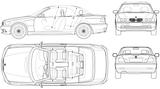 Imprimer le coloriage : BMW, numéro 105547