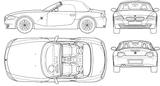 Imprimer le coloriage : BMW, numéro 105558