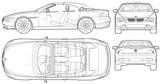 Imprimer le coloriage : BMW, numéro 105559