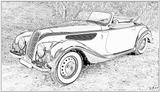 Imprimer le coloriage : BMW, numéro 105566