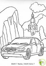 Imprimer le dessin en couleurs : BMW, numéro 109824