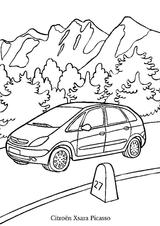 Imprimer le coloriage : Citroen, numéro 104663