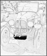 Imprimer le coloriage : Citroen, numéro 104673