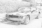 Imprimer le coloriage : Dodge, numéro 104689