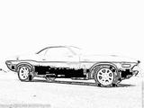 Imprimer le coloriage : Dodge, numéro 104692