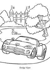 Imprimer le coloriage : Dodge, numéro 104716