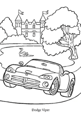 Imprimer le dessin en couleurs : Dodge, numéro 108946