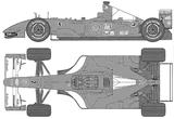 Imprimer le coloriage : Ferrari, numéro 105727