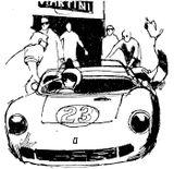 Imprimer le coloriage : Ferrari, numéro 105730