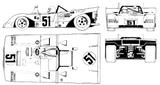 Imprimer le coloriage : Ferrari, numéro 105731