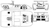 Imprimer le coloriage : Ferrari, numéro 105735