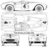 Imprimer le coloriage : Ferrari, numéro 105736