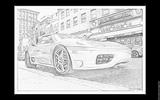 Imprimer le coloriage : Ferrari, numéro 105738