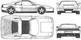 Imprimer le coloriage : Ferrari, numéro 105739