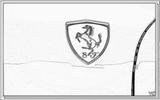 Imprimer le coloriage : Ferrari, numéro 105747