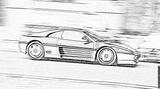 Imprimer le coloriage : Ferrari, numéro 105752