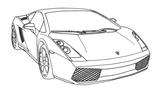 Imprimer le coloriage : Ferrari, numéro 105755