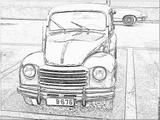 Imprimer le coloriage : Fiat, numéro 104729