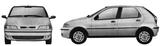 Imprimer le coloriage : Fiat, numéro 104731