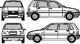 Imprimer le coloriage : Fiat, numéro 104735