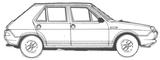 Imprimer le coloriage : Fiat, numéro 104740