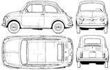 Imprimer le coloriage : Fiat, numéro 104743