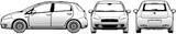 Imprimer le coloriage : Fiat, numéro 104748