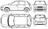 Imprimer le coloriage : Fiat, numéro 104749