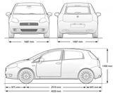 Imprimer le coloriage : Fiat, numéro 104762