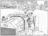 Imprimer le coloriage : Ford, numéro 104776