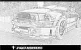 Imprimer le coloriage : Ford, numéro 104777