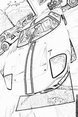 Imprimer le coloriage : Ford, numéro 104781