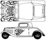 Imprimer le coloriage : Ford, numéro 104788