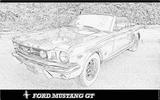 Imprimer le coloriage : Ford, numéro 104792