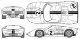 Imprimer le coloriage : Ford, numéro 104796