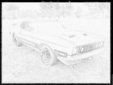 Imprimer le coloriage : Ford, numéro 104810