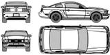 Imprimer le coloriage : Ford, numéro 114503