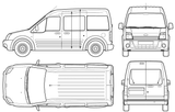 Imprimer le coloriage : Ford, numéro 114505