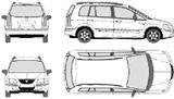 Imprimer le coloriage : Mazda, numéro 104992