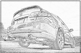 Imprimer le coloriage : Mazda, numéro 104993