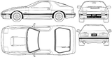 Imprimer le coloriage : Mazda, numéro 104997