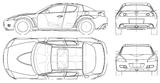Imprimer le coloriage : Mazda, numéro 105000