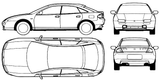 Imprimer le coloriage : Mazda, numéro 105001