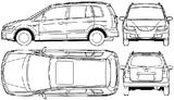 Imprimer le coloriage : Mazda, numéro 105007